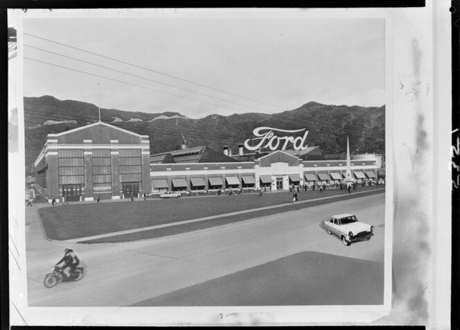 Ford Motors - copy Ford factory at Gracefield