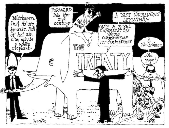 Brockie, Robert Ellison, 1932- :The Treaty. National Business Review, 12 March 2004.