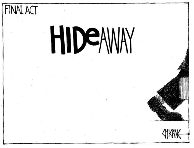 Winter, Mark 1958-: HIDE away - final ACT. 29 April 2011