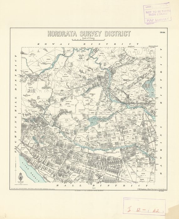Hororata Survey District [electronic resource].