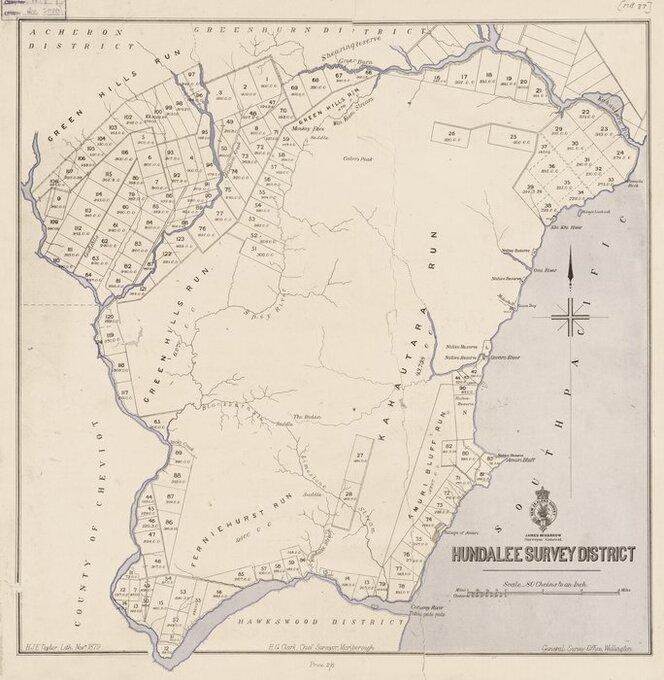 Hundalee Survey District [electronic resource].