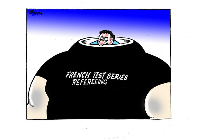 French Test Series refereeing