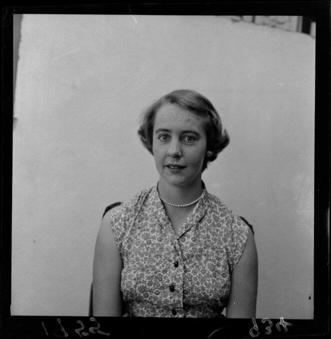 Portrait of Margot B Ashwin