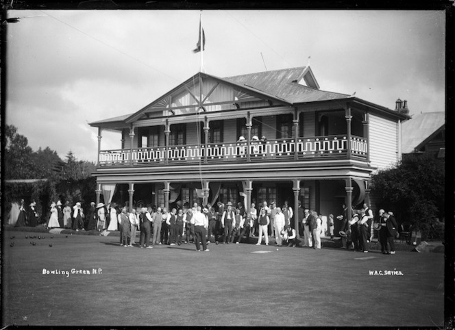 Bowling club house, New Plymouth