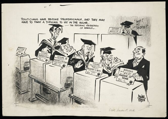 Colvin, Neville Maurice, 1918-1991:Jack of all trades. [1945-1955]