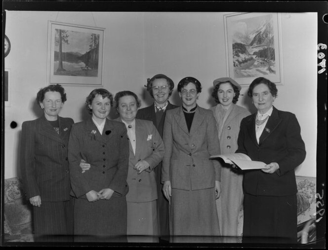 Meeting of the Equal Pay Committee with Hilda Ross, Member of Parliament