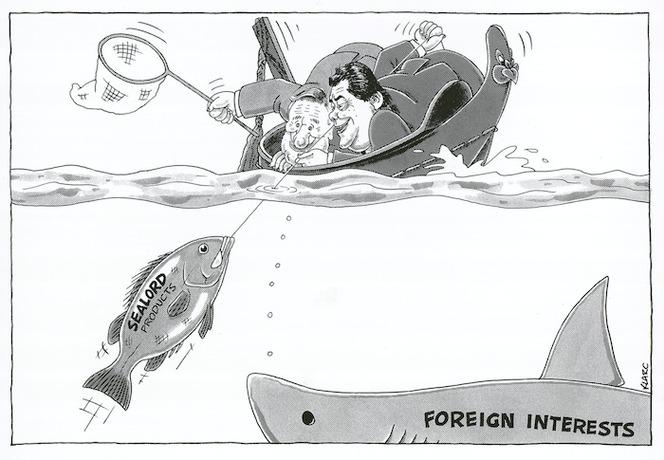 Clark, Laurence, 1949 - :Sealord products ; Foreign interests. / Klark. 1 September 1992