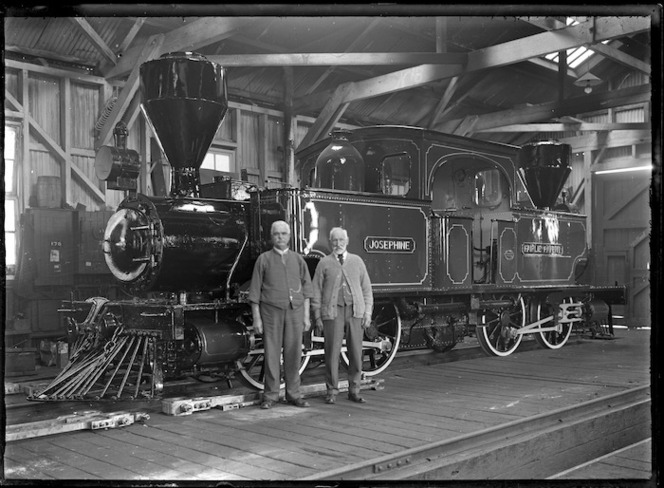 E Class steam locomotive Josephine, E 175, 0-4-4-0T