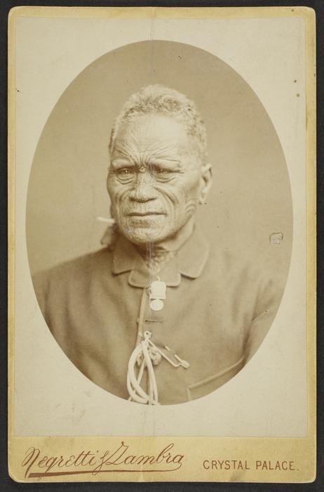 Negretti & Zambra, fl 1860-1899 :Portrait of Tukaroto Matutaera Potatau Te Wherowhero Tawhiao