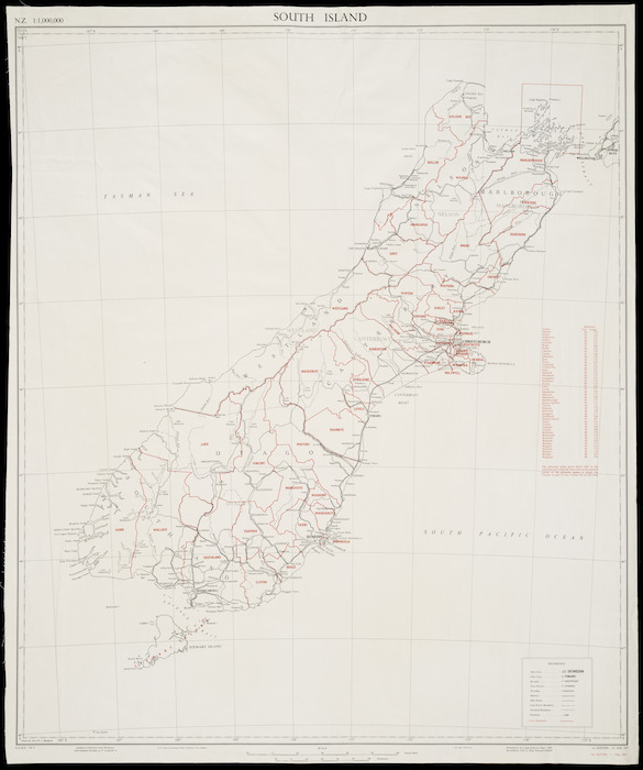 N.Z. 1:1,000,000 [cartographic material].