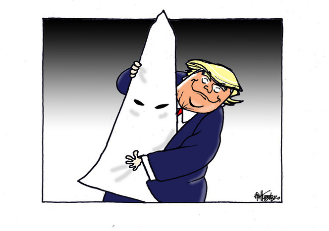 Trump and white supremacism