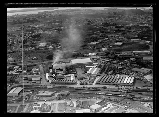 Industrial area, location unknown, Auckland