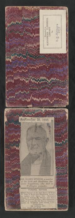 McNeish, Harry, 1874-1930 : Journal of Harry McNeish, carpenter on Shackleton's Endurance expedition