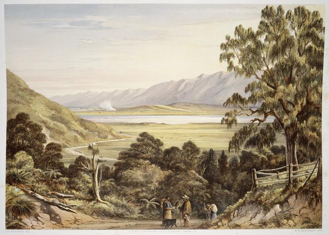 [Barraud, Charles Decimus] 1822-1897 :Pukawa Lake. 1877.