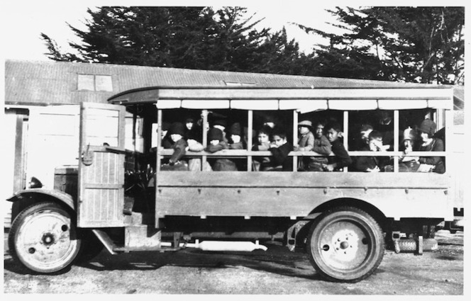Department of Education bus