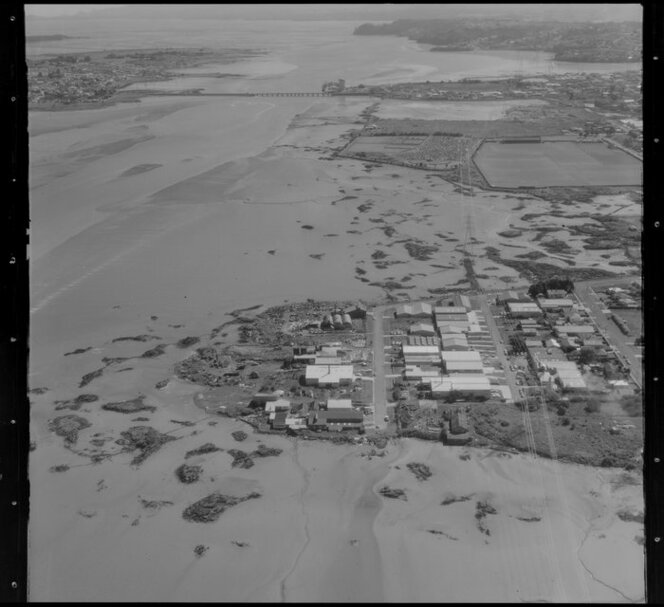 Mangere Inlet, Auckland, including Te Papapa