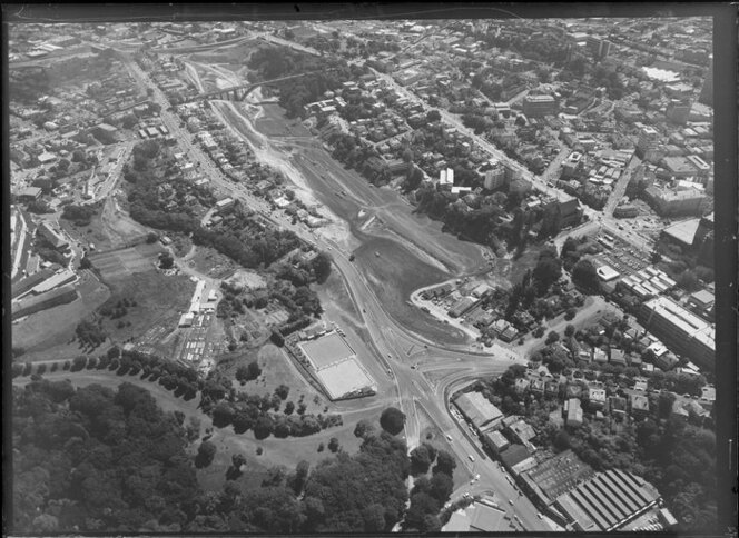 Grafton Gully Motorway, Auckland