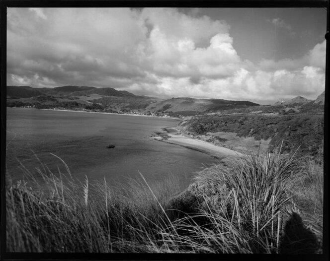 Omapere beach, Northland