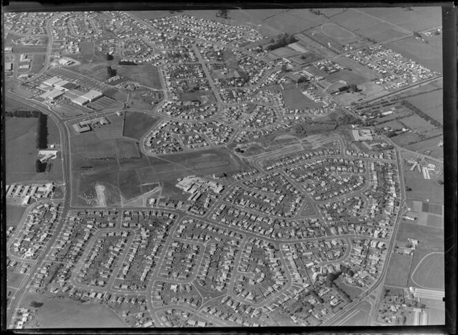 Subdivision development at Mangere, Manukau, Auckland