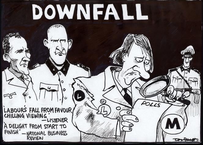 Scott, Thomas, 1947- :Downfall. Dominion Post, 20 June 2005.