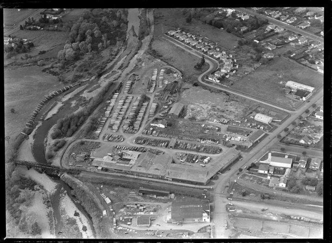 Daniels timber mill, Masterton