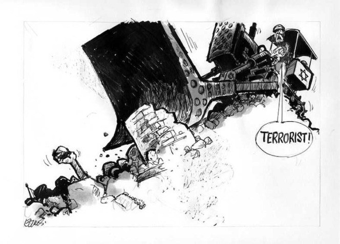 Evans, Malcolm 1945- :Terrorist! New Zealand Herald, 17 April 2001.