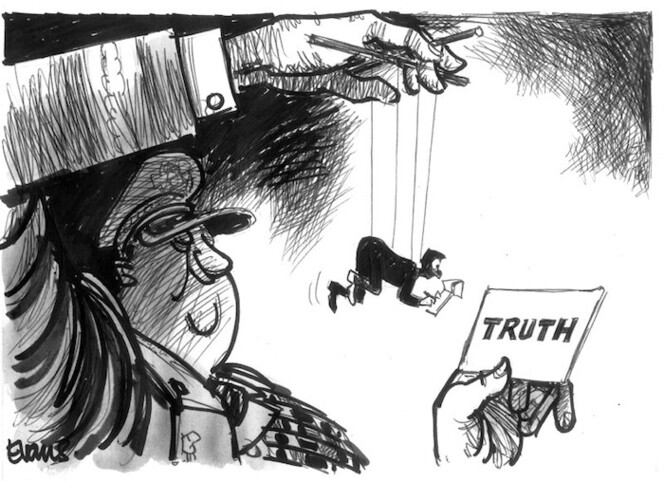 Evans, Malcolm, 1945- :Truth. New Zealand Tablet 31 March, 2003.