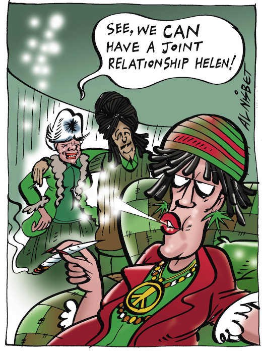 """""""See, we can have a joint relationship Helen!"""" 19 August, 2005"""