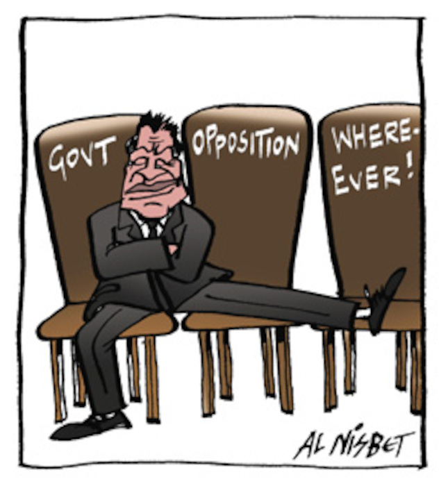 Govt. Opposition. Where-ever! [Winston Peters] 21 October, 2005