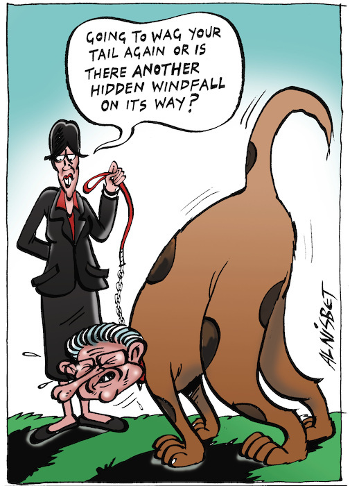 """""""Going to wag your tail again or is there another hidden windfall on its way?"""" 26 August, 2005"""