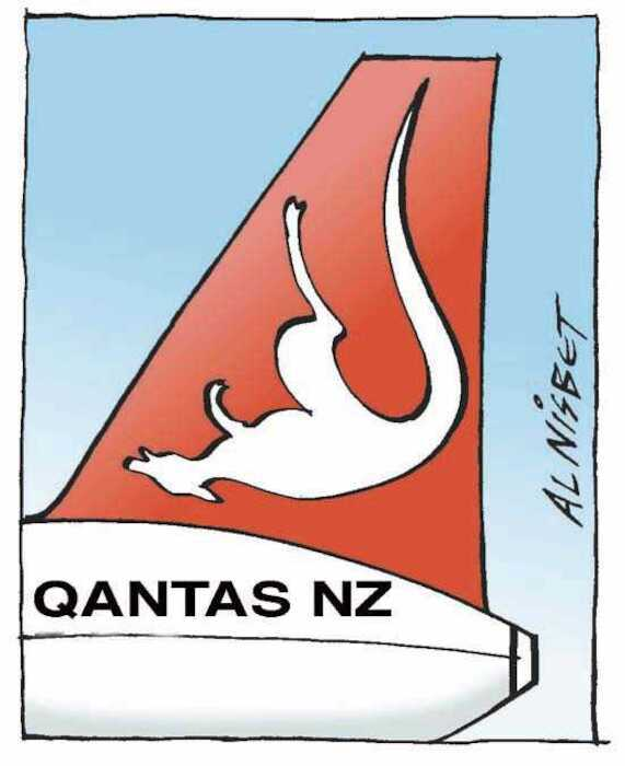 Nisbet, Al 1958- : Qantas NZ. Christchurch Press.