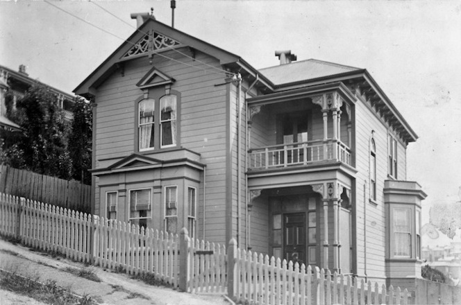 House on Ingestre Street, Wellington.