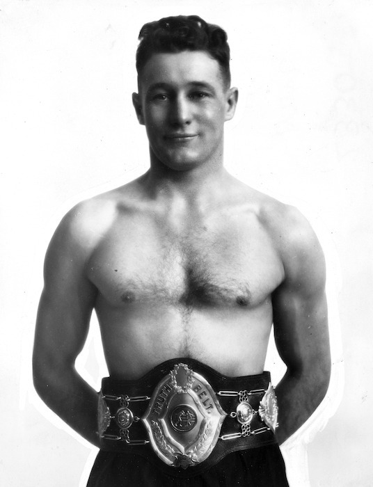 Ted Morgan, amateur world welter-weight boxing champion