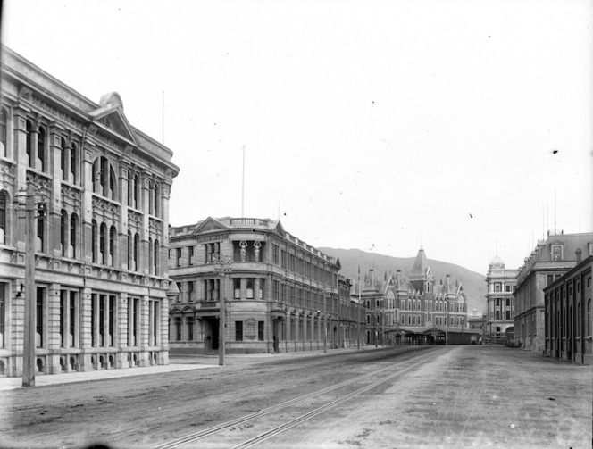 Jervois Quay And Government Life Buil Items National Library