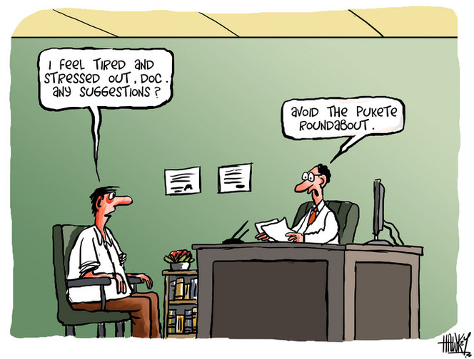 Hawkey, Allan Charles, 1941- :'I feel tired and stressed out, doc. Any suggestions?' ... 20 March 2012