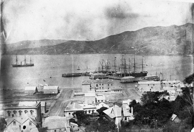 Queens Wharf, harbour and waterfront area, Wellington