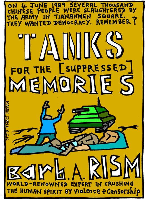 Doyle, Martin, 1956- :BOOK Tanks for the Memories. 6 June 2014