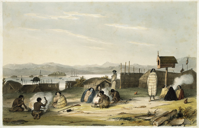 Earle, Augustus 1793-1838 :Slaves preparing food. London, lithographed and published by R. Martin & Co [1838]