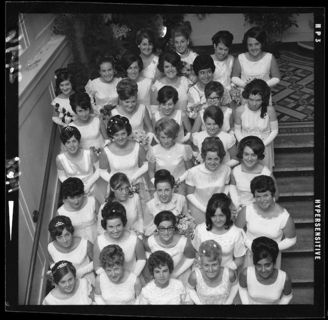 Debutantes at the Wellington Charity Ball