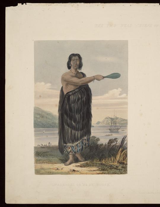 """[Heaphy, Charles] 1820-1881 :Warepori or """"Dark house"""". Day & Haghe. [London, Smith, Elder 1845]"""