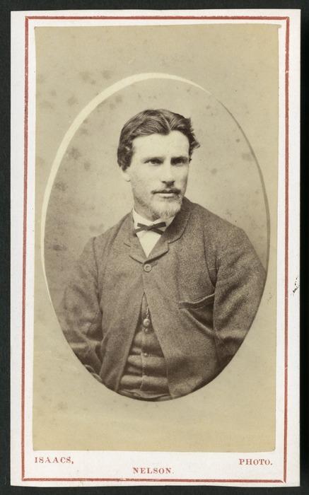 Isaacs, David Morris, 1824?-1909: Portrait of Arthur Dudley Dobson