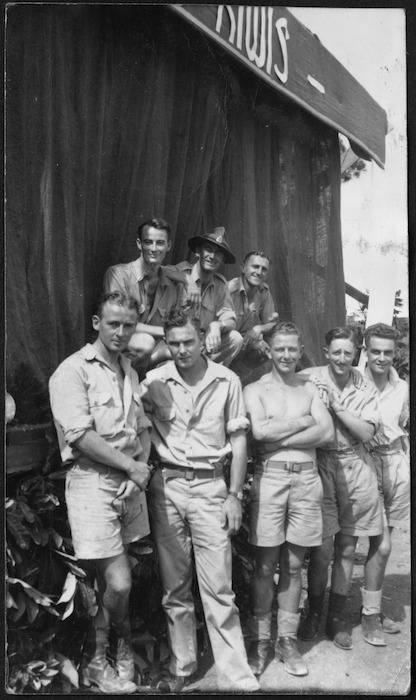 Members of the Kiwi Concert Party in the Pacific