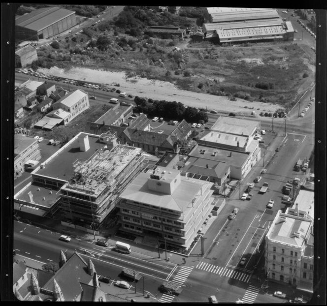 Auckland, with factories/business premises