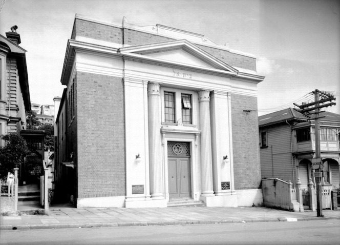 The Synagogue, The Terrace, Wellington