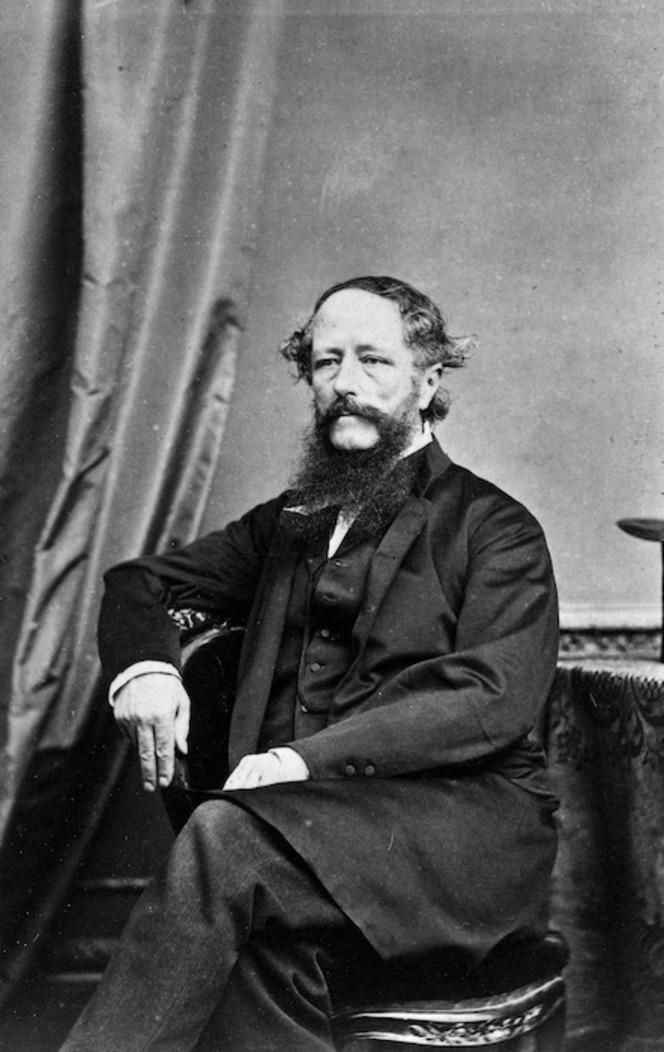 William Colenso taken in 1868.