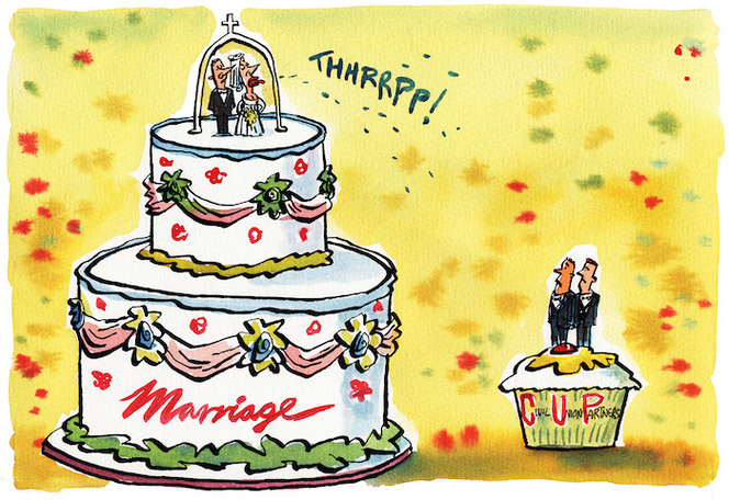 THHRRPP! Marriage, Civil Union Partners, 2004. Ref: DCDL-0003811