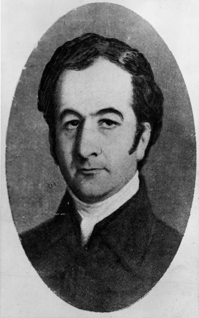 Rev. James Buller. c.1855.