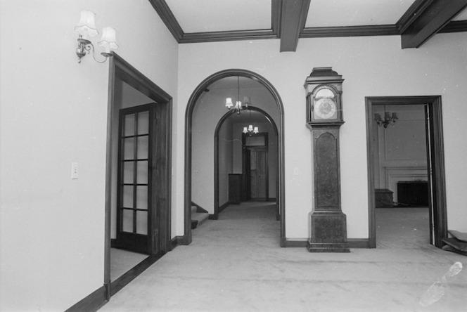 Main foyer of Vogel House, Lower Hutt