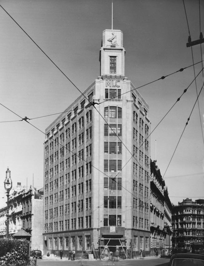 MLC building, Wellington - Photograph taken by Gordon Burt