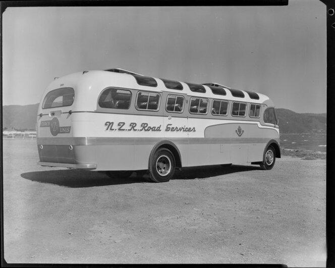 NZR Road Services bus
